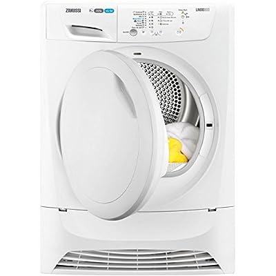 Zanussi ZDC8202PZ Freestanding B Rated Condenser Tumble Dryer - White