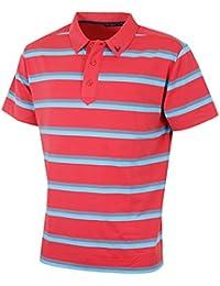 Callaway Two Colour Block Polo de Golf Homme XL blanc