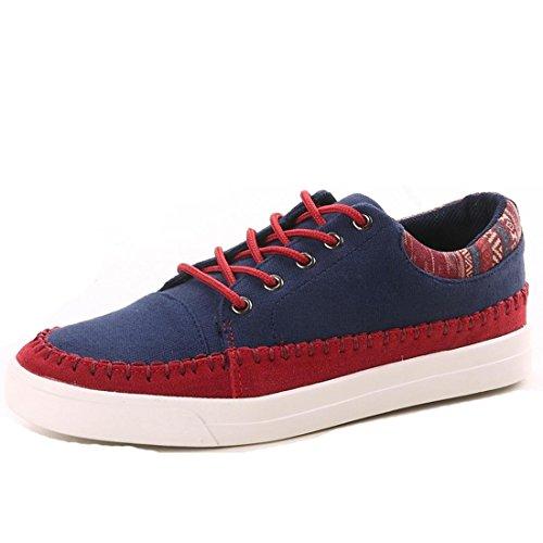 uomo-scarpe-per-il-tempo-libero-moda-traspirante-portatile-blue-red-44
