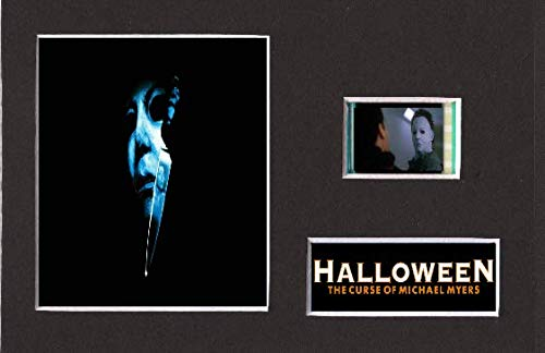 Generic der Fluch Michael Myers Halloween montiert Film Cell Style Display 6 x 4, gerahmt, 25 x 20 cm