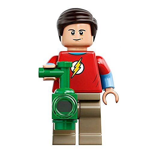 Preisvergleich Produktbild LEGO Ideas Big Bang Theory Minifigure - Sheldon Cooper with Green Lantern Lantern (21302)