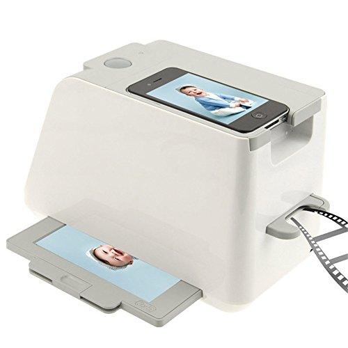Beweglicher Filmscanner, Multifunktionaler beweglicher Smartphone-Foto-Scanner-Handy Film-Scanner-Unterstützung iPhone