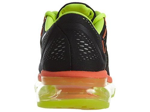 Nike Air Max 2016 (Gs), Scarpe da Corsa Uomo Nero (Black (nero / argento-volt-Reflect completo arancione))