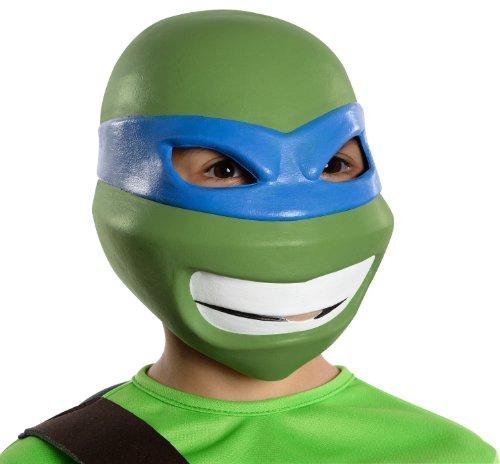 T.M.N.T. Leonardo 3/4 Vinyl Costume Mask Child One Size