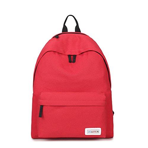 zaino in tela coreano tinta unita/minimalista Travel Leisure laptop bag/Elegante-D A