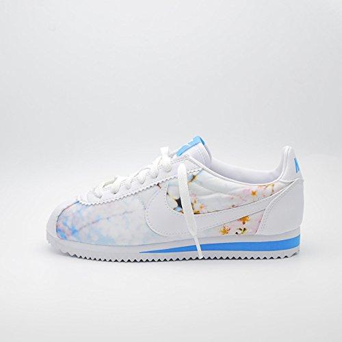 Nike Donna W Classic Cortez Cherry BLS scarpe sportive Bianco Size: 38