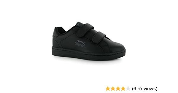 58559c330c276 Slazenger Kids Ash Vel Hook and Loop Casual Sports Shoes Trainers Footwear   Amazon.co.uk  Clothing