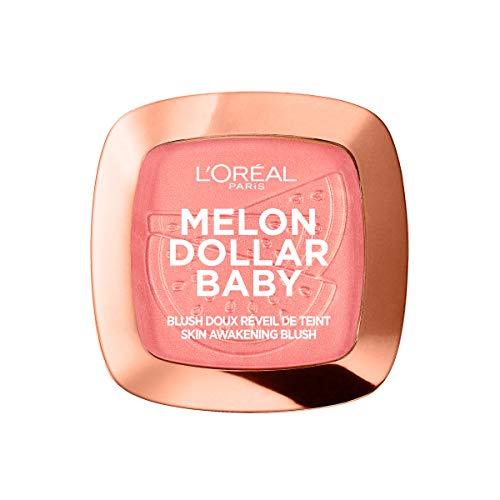 L'Oréal Paris Melon Dollar Baby Blush 03 Watermelon Addict, 1er Pack (1 x 9 g) - Paris Blush