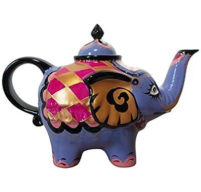 Éléphant-verseuse design: bleu-théière en porcelaine avec couvercle 1821 0,8 l