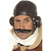 Smiffys Sombrero de aviador, marrón