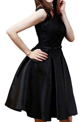Missdressy -  Vestito  - linea ad a - Donna Nero