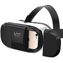 UMIDIGI VR BOX 3 Dispositivo, Occhiali per Realtà Virtuale, Visore con Lenti Regolabili/Laccio Regolabile/Magnete, per Film 3D/Giochi – Bianco e Nero