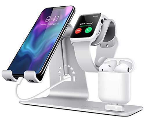 Bestand 3 in 1 Stand iWatch Apple, Dock per...