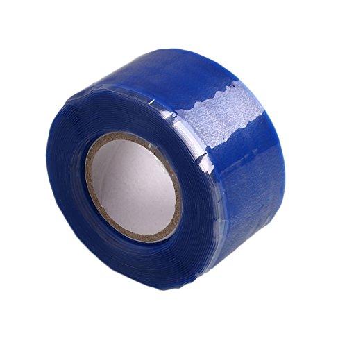 3 m Bleu doux Tuyau Boudin Rescue réparation d'étanchéité ruban adhésif en caoutchouc de silicone Outil