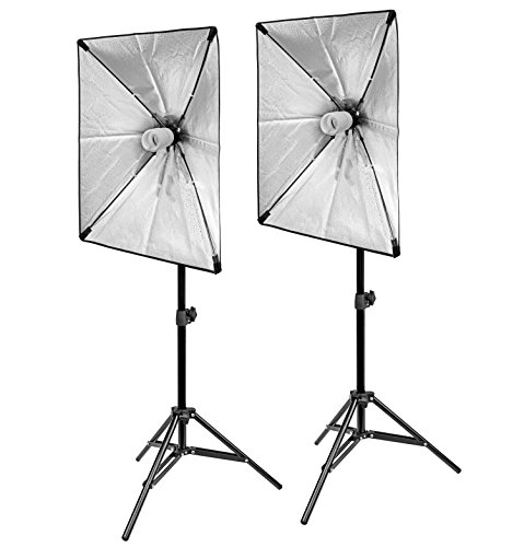 BRESSER Schirmsoftbox, ideal für Aufnahmen on location