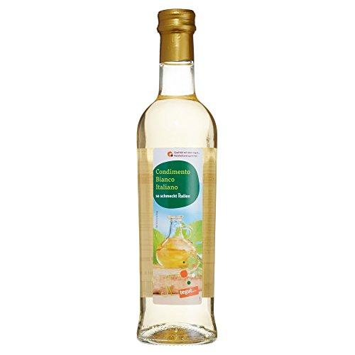 "tegut... Weinessig \""Condimento Bianco Italiano\"", 500 ml"