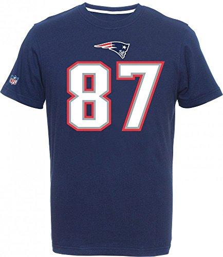 Majestic NFL Fan Shirt - New England Patriots Rob - Rob Gronkowski Tshirt
