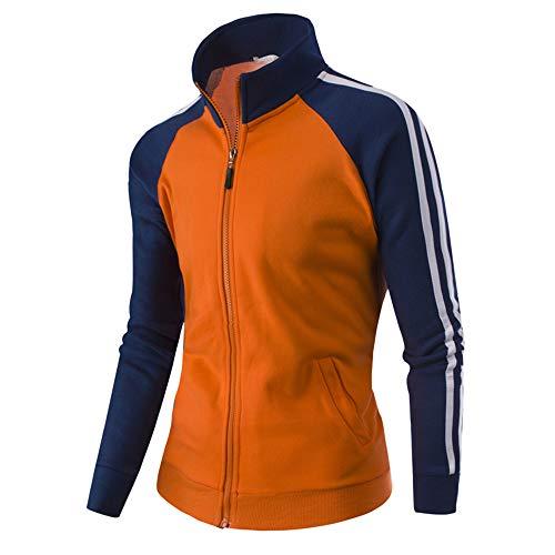 (MAYOGO Hoodie Herren Herbst Winter Langarm Sweatshirts Coats Hoodie Herren Fussball Outwear Jacke Outdoorjacke)