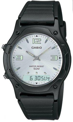 Casio Collection Herren-Armbanduhr Analog / Digital Quarz AW-49HE-7AVEF
