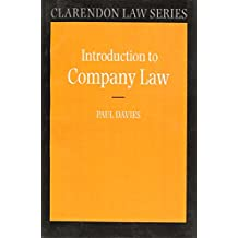 Introduction to Company Law (Clarendon Law Series)