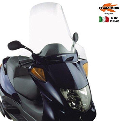 Pare-Brise Transparent 49,9 x 72,5 cm (H x l) Kappa KD199ST Honda Pantheon 125 - 150 (98 > 02) Honda Foresight 250 (97 > 08) Peugeot SV 250 (02)