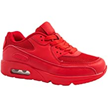 zapatillas air max rojas