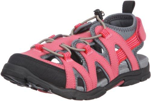 KangaROOS Cornelius 11083 Unisex-Kinder Sandalen, Pink (pinkyboo/sand/charcoal 612), EU 37