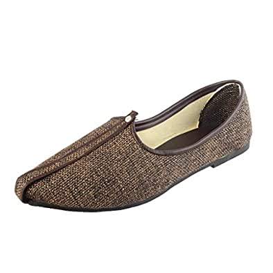 Alex Brown Men's Brown Jute Juthis - 11 UK