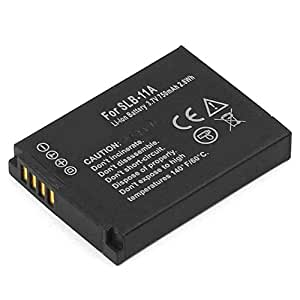 SLB-11A Batterie pour Samsung (1130mAh, 3.7V) Lithium-Ion Batterie de Cellonic