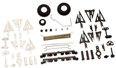 Graupner - 7816.W - Accessoires Pour Modèles En Dépron, Blanc