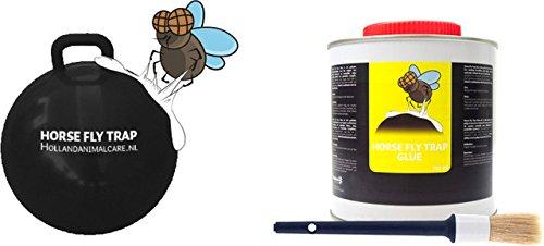 Horse Fly Trap Ball - Bremsenfalle inkl. Kleber