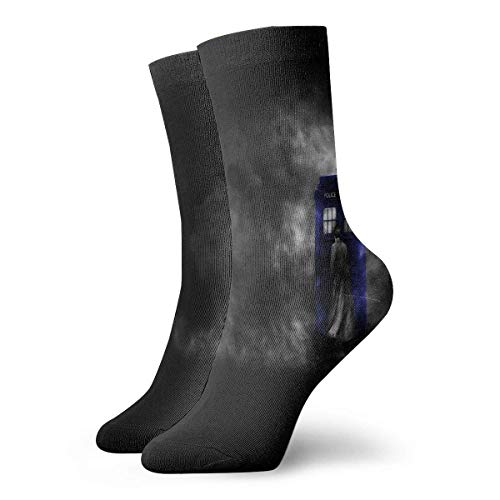 REordernow Sportliche Herrensocken Crew Socks Doctor Who HD Wallpapers Fantastic Womens Casual Stocking Decor Sock Clearance for Youth (Hd Halloween Wallpaper)