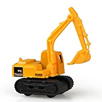 Construction Excavator Car Toys Push and Go Car Vehicles Toys for Kids 1PC(Excavator)
