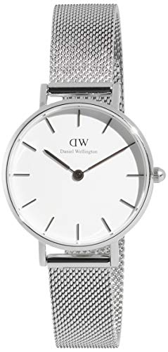 Daniel Wellington Reloj Analógico para Mujer de Cuarzo con Correa en Acero Inoxidable DW00100220