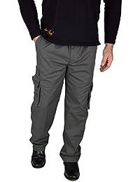 IWEA Herren Cargohose Outdoor Freizeithose Arbeitshose Cargo Hose Lang Trekkinghose Casual Pants IW061