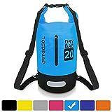Arteesol Dry Bag, 5L/10L/20L/30L Waterproof Bag Dry Sack Backpack with Waist Strap