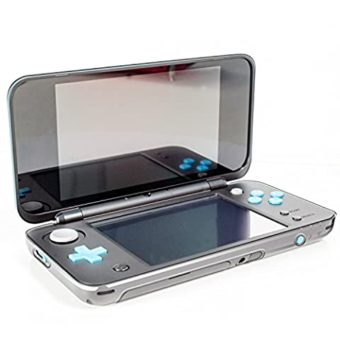 Coque New 2DS XL, Coque Orzly InvisiCase pour console New Nintendo 2DS XL Modèle 2017 - 100% Transparente - Protection Totale Cover