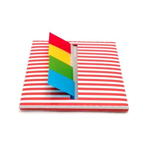 Redi-Tag funda dispensador de escritorio página banderas
