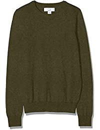 70bb993ba898 Amazon Brand – MERAKI Women's Lightweight Cotton Crew Neck Jumper