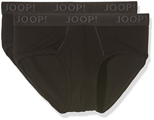 Joop! Herren 17 B-2-Pack-Slip 10001475 Slip, Schwarz (Black 001), Large