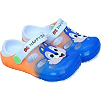 WMK Back Sling LED Light Clogs Mules Sandal for Kids Babies Boys Girls (Unisex)