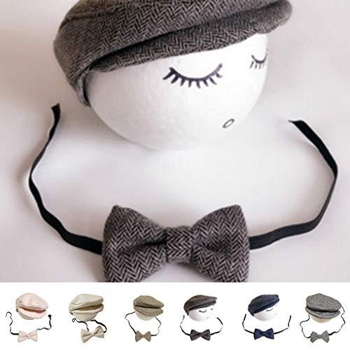 Mädchen Einfache Super Kostüm - Centitenk 2ST / Set-Baby-Hut Bowtie Cap Krawatte Fotografie Kostüm Cosplay Newborn Foto-Denkmal Props DIY Dekoration
