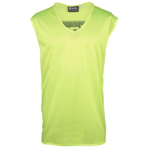 Lotto - Canotta Sportiva - Uomo (Taglia unica) (Giallo fluorescente) Verde fluorescente