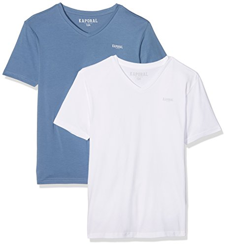 kaporal-mifte17b18-t-shirt-garcon-multicolore-white-jean-fr-14-ans-taille-fabricant-14-ans