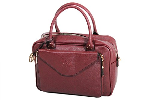 Borsa pochette Andie HEKA A8066 Blue collection Rosso (Bordeaux)