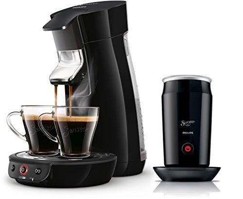 Philips Senseo HD7829/60 Viva Café Kaffeepadmaschine + Philips CA6500/60 Senseo Milk Twister Milchaufschäumer