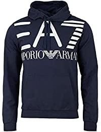 0f946d3ca76 Emporio Armani - Sweat-Shirt à Capuche - Homme Bleu Bleu Marine