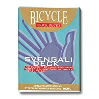 Bicycle Svengali Playing Cards Trick Deck (RED) Edition Box by Murphy's Magic
