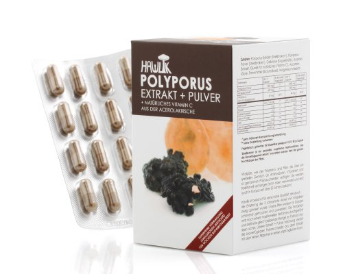 Hawlik Polyporus Extrakt + Pulver 120 Stück