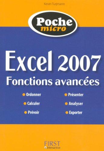 POC MICRO EXCEL 07 FONCT AVANC